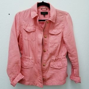 Talbots Utility Jacket Coral